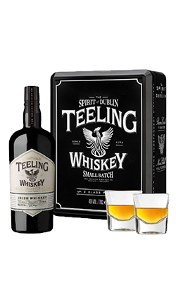 Teeling Blended Small Batch 2 Glass Gift Tin