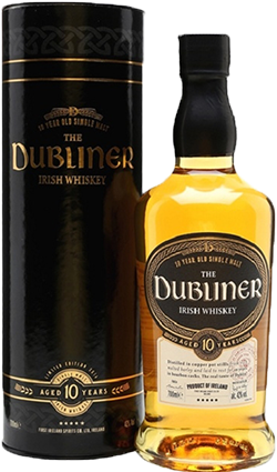 The Dubliner Irish Whiskey 10YO 700ml