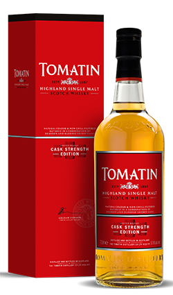 Tomatin Cask Strength Edition 700ml