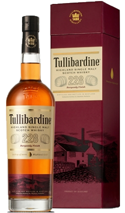Tullibardine 228 Burgundy Finish Whisky 700ml
