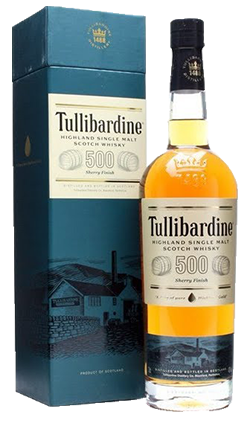 Tullibardine 500 Sherry Finish Whisky 700ml