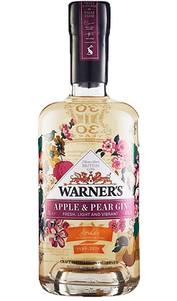 Warner Edwards Apple & Pear Gin 700ml