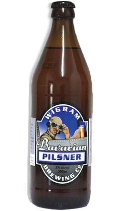 Wigram Bavarian Pilsner 500ml