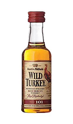 Wild Turkey 101 50ml miniature