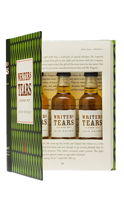 Writers Tears Gift Book Set 3 x 50ml