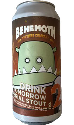Behemoth Drink Tomorrow Imperial Stout 440ml