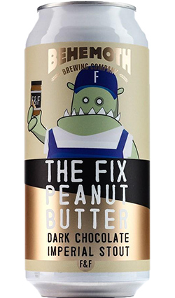 Behemoth The Fix Peanut Butter Dark Chocolate Stout 440ml