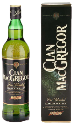 Clan McGregor Blended Scotch Whisky 1000ml