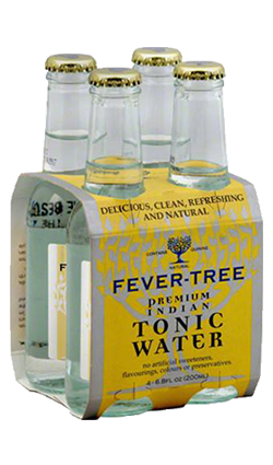 Fever Tree Indian Tonic Water 200ml 4pk