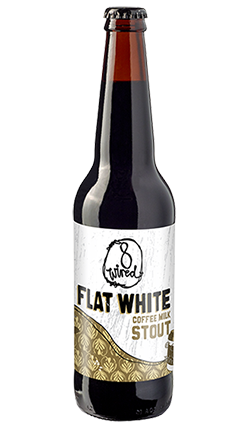 8 Wired Flat White Coffee Milk Stout 500ml
