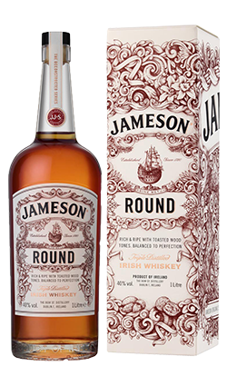 Jameson ROUND Irish Whisky 1000ml
