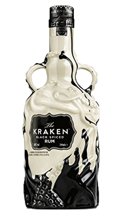 Kraken Rum Black And White Ceramic 700ml Whisky And More