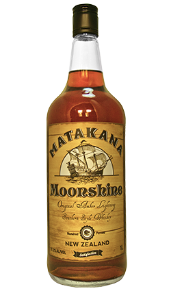 Matakana Moonshine Amber Lightning Whiskey 1000ml