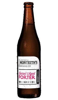 Monteiths BS Barrel Aged Porter 500ml