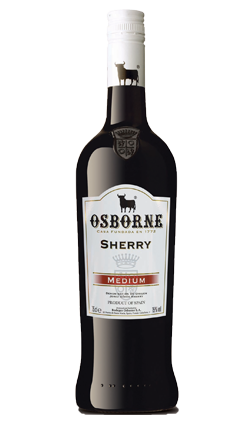 Osborne Medium Dry Sherry 750ml