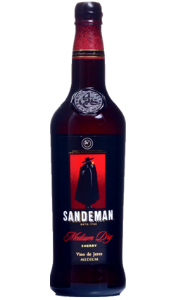 Sandeman Medium Dry Sherry 750ml