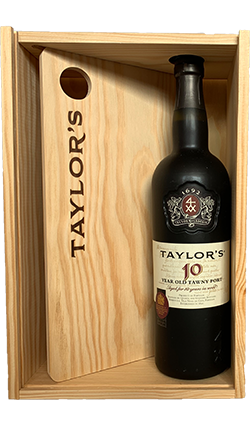 Taylors 10YO Port 750ml with Cheese Board