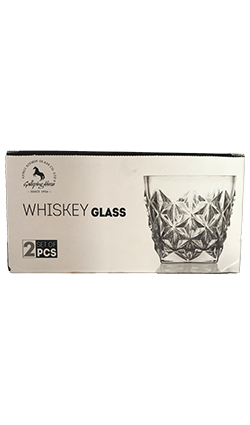 Whiskey glass 2 pack