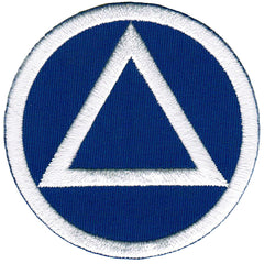 Alcoholics Anonymous (Blue/White)