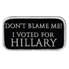 I Voted For Hillary