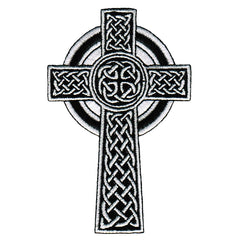 Irish Celtic Cross (White)