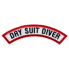Dry Suit Diver Chevron