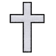 White/Black Cross