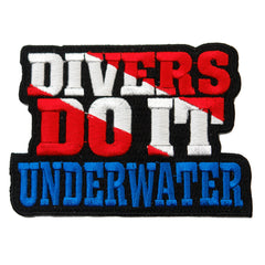 Divers Do It Underwater