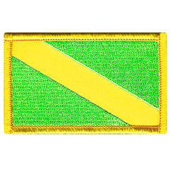 Nitrox Flag (Fluorescent Green)