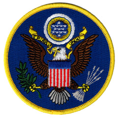Great Seal Of United States (Blue)