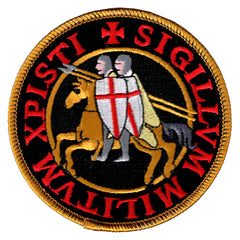 Knights Templar Seal (Black)