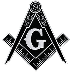 Large Masonic Symbol (Black)