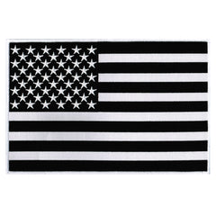 Large American Flag (Black)