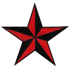 Nautical Star - Black/Red