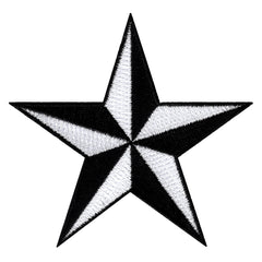 Nautical Star - Black/White