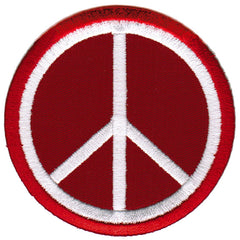 Peace Sign (Red)