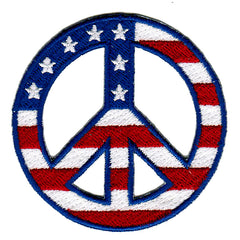 Peace Sign (Stars/Stripes)