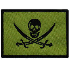 Calico Jack Flag (Green)