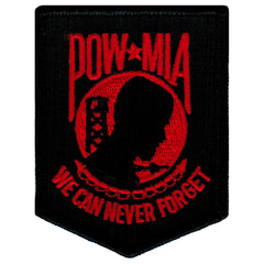 POW-MIA (Black/RED)