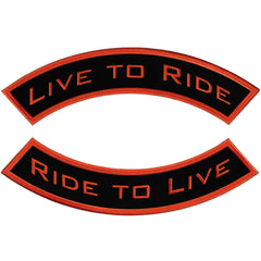 Live To Ride Rocker (Plain Font)