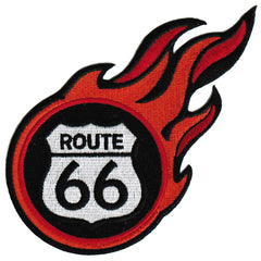 Route 66 Flames
