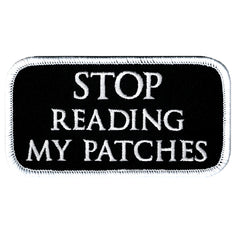 Stop Reading My Patches