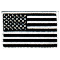 American Flag (Black/White)
