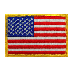 American Flag (Gold)