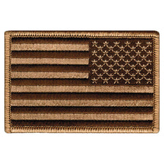 American Flag (Tan, Reversed)