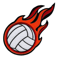 Flaming Volleyball