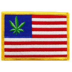 United States of Weed Flag