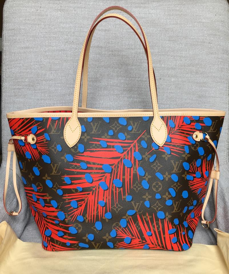 5264b1594bdc Diva styles - Limited Edition! Louis Vuitton Palm Springs Neverfull MM Tote  Bag