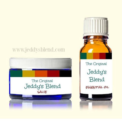 The Original Jeddy's Blend 10ml EO / Salve Bundle