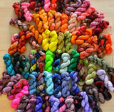Mini Skein Giveaway to Support Heifer International in Honor of Pearl Chin